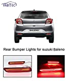 Fabtec Car Rear Bumper Break Light DRL Light With Knife Style For (Suzuki Baleno)