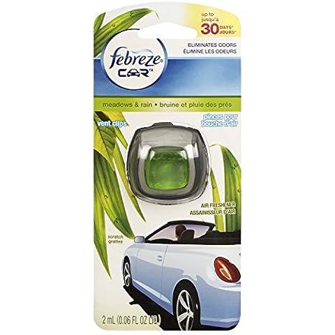 Febreze Praderas y lluvia de ventilación de coche ambientador