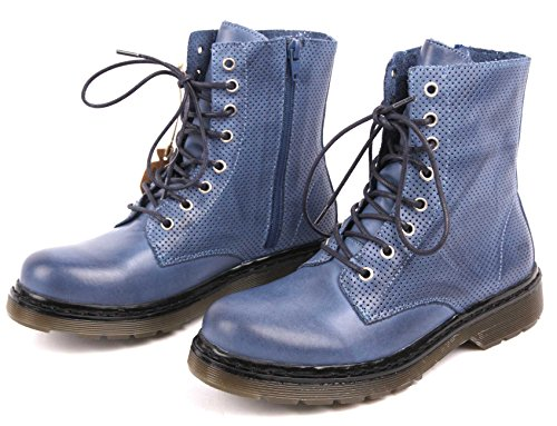 apple of eden boots sun blue Blau