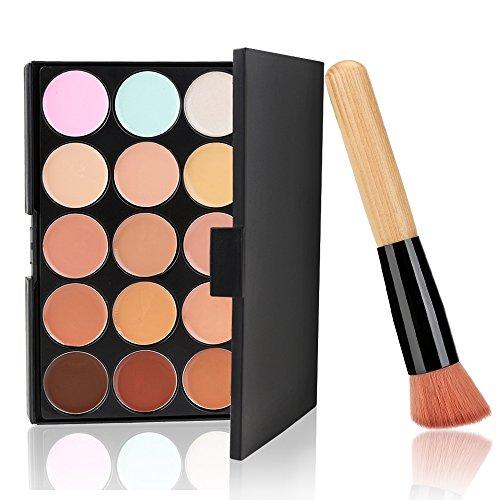 Neverland Beauty 15 couleurs de maquillage Correcteur Contour Palette + pinceau de maquillage