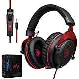 TechVibe 2017 SADES CX-778 PS4 Xbox One 3.5mm Gaming Headset Over-Ear Gaming Headphones