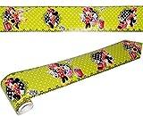 alles-meine.de GmbH Wandbordüre - selbstklebend -  Disney Minnie Mouse  - 5 m - Wandsticker / Wandtattoo - Bordüre Aufkleber Kinderzimmer - für Kinder Mädchen - Maus / Playhous..