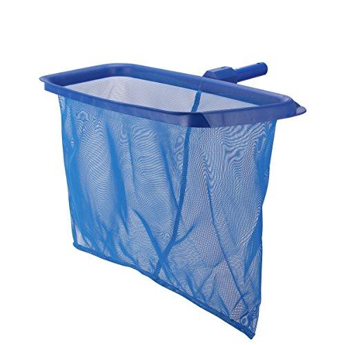 uniquebella-professional-spa-pool-cleaner-deep-bag-leaf-skimmer-net-heavy-duty-rake-and-basket-19-x-