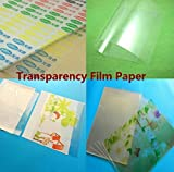 #10: TOTAL HOME: 100 Micron Interleaved Clear Transparent Polyster Film - 100 Sheets