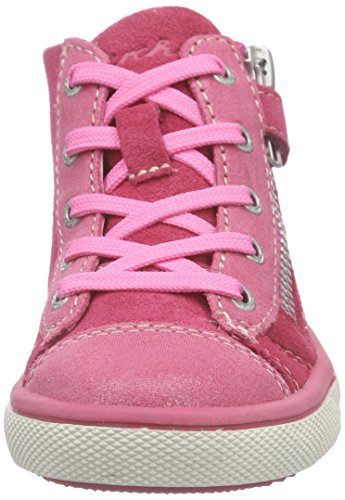 Lurchi  Stelly, Sneakers Basses fille Rose - Pink (fuchsia 23)