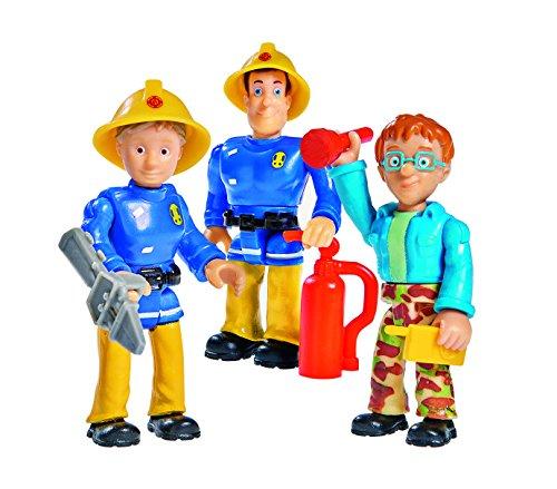 Simba 109251015NSP - Feuerwehrmann Sam Figuren Special Set 3er Pack Variante 2