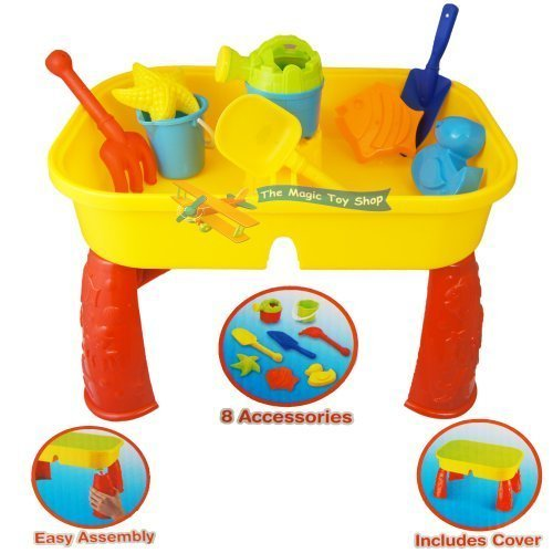 sand-and-water-table-garden-sandpit-play-set-toy-watering-can-spade-sand-bucket