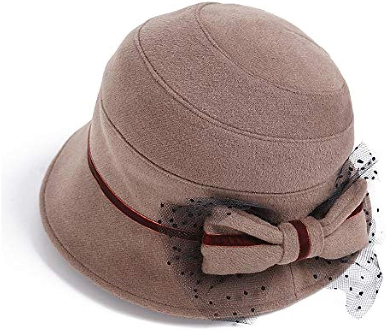 Cappello caldo Autunno YN Cappelli di Lana Autunno caldo e Inverno Versione  Coreana Marea Elegante Tessuto pregiato fattura... Parent 3e98f0 bf2c0446424b