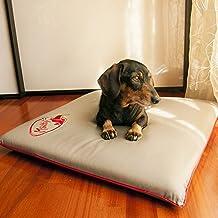 Cojín para perros y otras mascotas - Cama que repele el pelo, desinfectante, antiolor