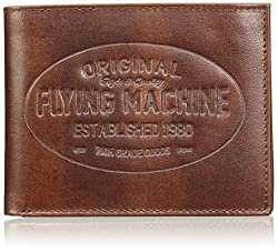 Flying Machine Burgundy Mens Wallet (FMAW0240)