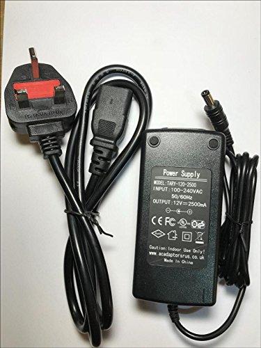 12V 2,5A Goodmans Teil Keine FBP045-120S250J2AC Adapter Desktop Power Supply PSU -