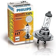 Philips Vision - Bombilla H7, + 30% de luz, 12 V, 55