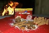 Zimt-Zucker-Hütchen 50 Stück (1X50) Zimt-Zuckerhütchen a 8g Zuckerhut Zucker Zimt für Feuerzangentasse Weihnachten Feuerzangenbowle Geburtstag Sylvester