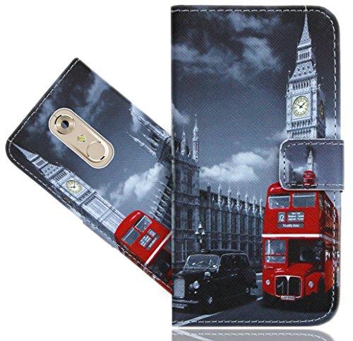 Preisvergleich Produktbild ZTE Axon 7 Handy Tasche,  FoneExpert® Wallet Case Flip Cover Hüllen Etui Hülle Ledertasche Lederhülle Schutzhülle Für ZTE Axon 7