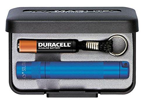 Mag-Lite Solitaire Mini-Taschenlampe, 8 cm, blau, K3A112