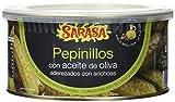 Sarasa Pepinillo Anchoa en Aceite - Paquete de 6 x 1000 gr - Total: 6000 gr