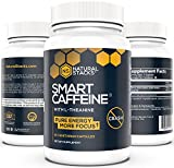 Best Natural Energy Pills - Smart Caffeine Nootropic Stack with L-theanine for Focused Review