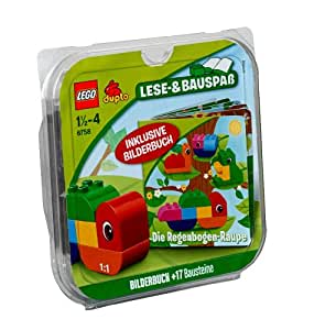 Lego Duplo Steine und Co. 6758 - Die Regenbogen-Raupe