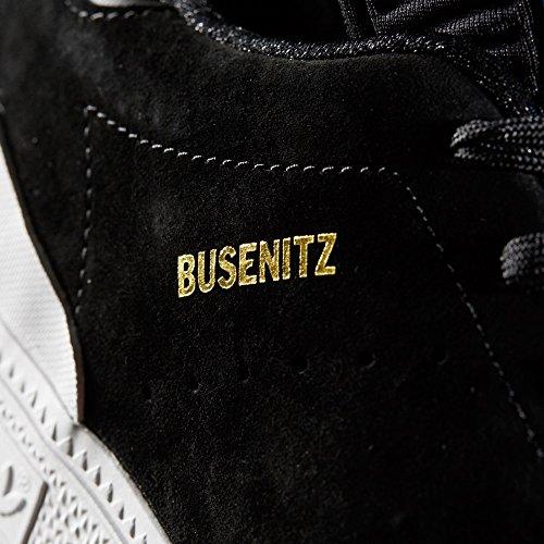adidas Busenitz RX, Scarpe da Skateboard Uomo Nero (Negbas/Ftwbla/Azucie)