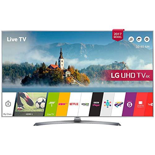 LG 43UJ750V 43 inch 4K Ultra HD HDR Smart LED TV (2017 Model)