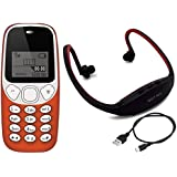 IKALL K71 Combo Include Neckband With Vibration Feature, 800 MAh Battery, 101 Days Replacement Warranty, BIS Certified And 1 Year Manufacturer - Red