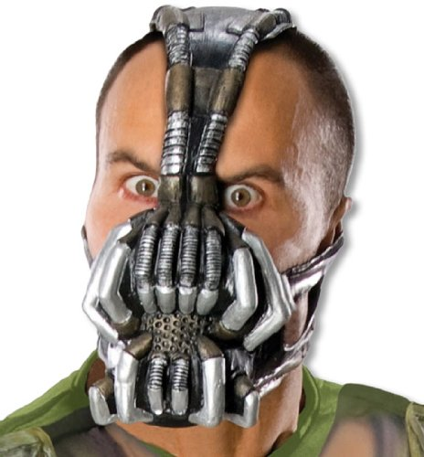 Bane Latex Maske (Bane Deluxe Rises Kostüme Dark Kind Knight)