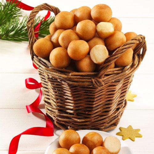 Edel-Marzipankartoffeln mit Korb