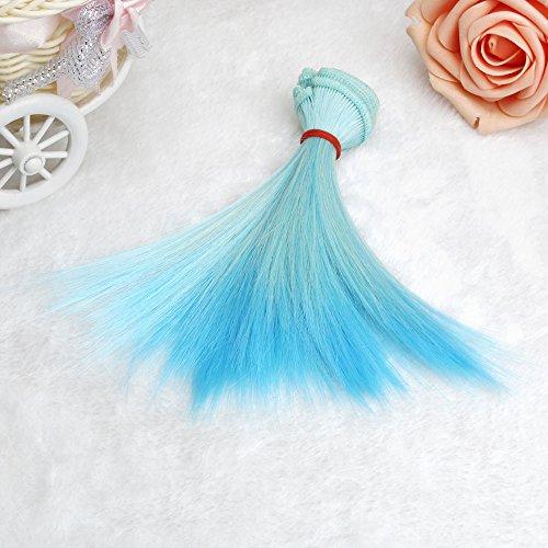 oll Perücke kurzes glattes Haar Frau Mädchen Bob Haar Perücken Farbverlauf für Party Cosplay Style ()