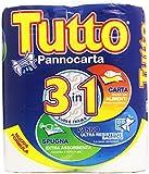Tutto - Pannocarta, 3 in 1, 2 Rotoli
