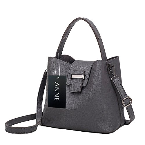 Anne - Borsa a tracolla donna Light Grey