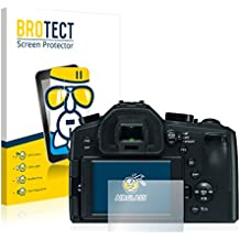 BROTECT Protector Pantalla Cristal para Leica V-Lux (Typ 114) Cristal Vidrio Glass Screen Protector - AirGlass