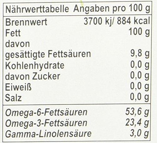 Chiron Bio - Hanföl echt kaltgepresstes, 1er Pack (1 x 500 g) - 2