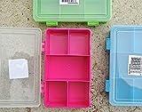 na-und Sortierbox 90x145mm Organisations Kleinteile BOX , Color:blau