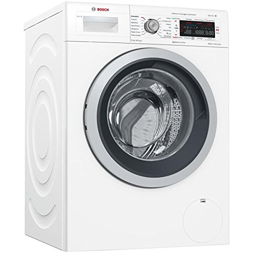 Bosch Serie 8 WAW286H8IT - Lavatrici carico frontale (8kg, 1379RPM, LED, A+++), Bianco
