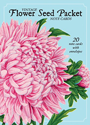Vintage Flower Seed Packet Note Cards: 20 Note Cards with Envelopes (Adressbuch-editor)