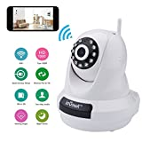 ieGeek 1080P Home IP Camera Wireless WiFi Indoor Video Monitoring Security Surveillance Pan/Tilt Camera with Night Vision Two-Way Audio Motion Detection (White)