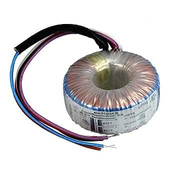 Transformateur torique 50VA 230V -> 2x12V / 1x24V ; Sedlbauer, RSO-826020