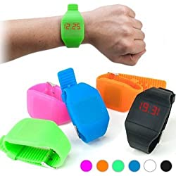 Digital Touch Wrist Watch