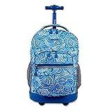 HCC& Trolley Schultaschen Multifunktion Wasserdicht Fahrbar Rollen Gepäck Rucksack Zum Jungen Mädchen Jugendliche Empfohlenes Alter: 10-17 Jahre Alt,3