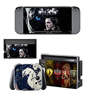 Nintendo Switch + Controller Aufkleber Schutzfolien Set – Game of Thrones (1) /Switch