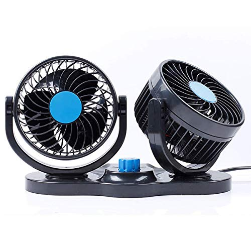 Ventilador de refrigeración de aire de doble cabezal para automóvil 2 velocidades...