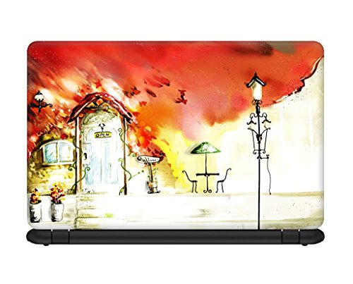 Design Lab Oil Painting Laptop skin for 13.3 inches Laptop, Compatible for Dell-Lenovo-Acer-HP-Vaio-Samsung Laptops [HD Print - Matte Lamination]  available at amazon for Rs.195