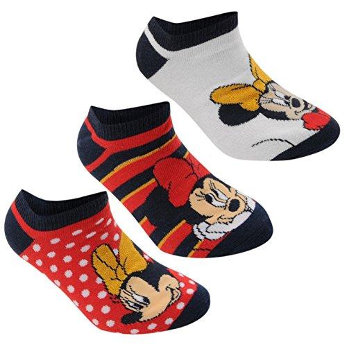 Disney-Minnie-Mouse-Socks-3-Pack-RedBlackWhite-Character-Sock