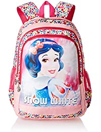 Disney Princess Snow White Pink School Bag for Children of Age Group 8 + years | Size 19 inch | Material Nylon