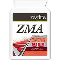Zestlife ZMA ( zinco, magnesio , vitamina B6 ) ** Offerta speciale** 60 capsule - Può aumentare il testosterone naturale e livelli di HGH ~ accelera il recupero ~ aumenta la resistenza muscolare e la forza