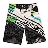 Banador de Natacion para Hombre Traje de Bano Casuales Bermudas Shorts Deportivos Short para Natacion Playa Piscina Verde 38