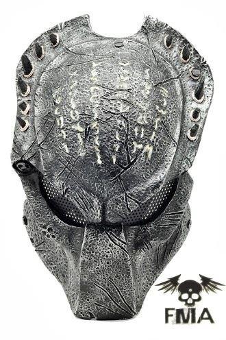 Helm Kostüm Wolf - Edel Predator Wolf BIO Paintball Airsoft Cosplay Maske Schutzmaske Schutzhelm