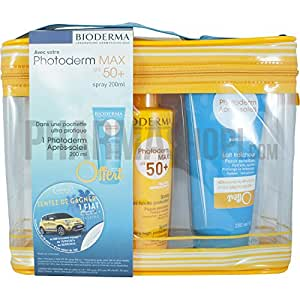 Bioderma Pochette Photoderm Max SPF 50+ Spray 200 ml + Après-Soleil 200 ml Offert