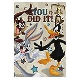 Best Hallmark Looney Tunes - Hallmark Medium 'Congratulations' Kids Looney Tunes Embossed Card Review