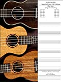 Ukulele Mandolin Banjo Bass Guitar Tab / Tablature Sheet Music Composition Notebook with Blank Five Chord Spaces & Staves / Staff Manuscript Paper for ... with Four Horizontal Line Strings, Band 2)